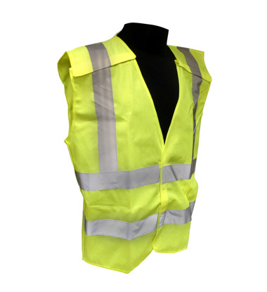 5 Point Breakaway Class 2 Safety Vests - Solid Twill  ##VEST 1 ##
