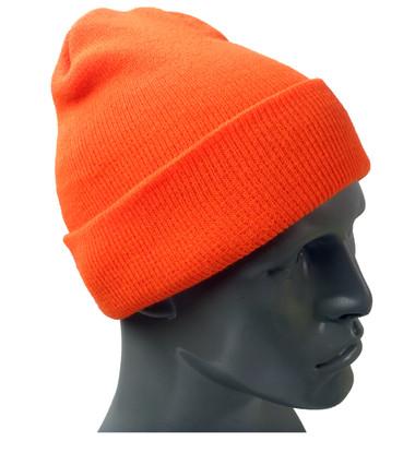 Hi-Vis Knit Hats - Safety Orange ##KC400 ##