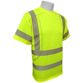 Hi-Vis Performance Stretch Class 3 T-Shirt  ## G818 ##