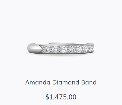 Amanda Diamond Wedding Band - Shop The Look