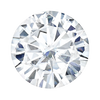 5mm Colorless Brilliant Moissanite
