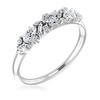 Womens Wedding Band Ethical Diamond Fancy Shapes