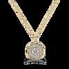 Megan Petite Diamond Halo Necklace