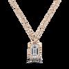Ethical Gemstone Recycled Gold Beaded Halo Necklace