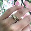 Ethical Marquise Gemstone Stacking Rings