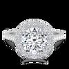 Laura Preshong Ethical Engagement Ring - Molly Ethical Diamond Brilliant Cut Diamond Halo Ring