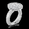 Laura Preshong Ethical Engagement Ring - Jenny Ethical Diamond Baguette Halo Ring