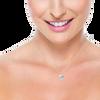 Laura Preshong Ethical Fine Jewelry - Lexi Ethical Diamond Hexagon Necklace