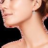 Trillion Wreath Silver Earrings