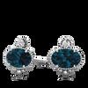 Vintage Inspired Ethical Gemstone Earrings