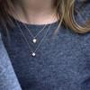 Laura Preshong Ethical Fine Jewelry - Lexi Ethical Diamond Hexagon Pendant