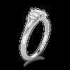 Henrietta Baguette Diamond Engagement Ring