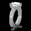 Lila Emerald Cut Engagement Ring