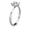 Lily Cushion Cut Engagement Ring