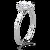 Mayfair Sidestone Engagement Ring