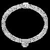 Tiny Square Diamond Bracelet