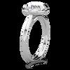 Tess Brilliant Cut Micro Halo Ring