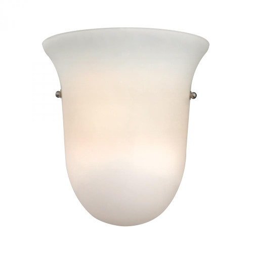 1 Light Wall Sconce In Brushed Nickel 9x9.5 5121WS/99