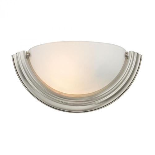 1 Light Wall Sconce In Brushed Nickel 13.5x6 5151WS/20