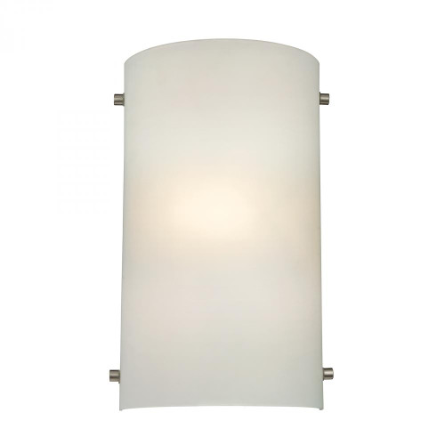 1 Light Wall Sconce In Brushed Nickel 7.5x12 5161WS/99