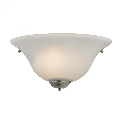 1 Light Wall Sconce In Brushed Nickel 12x6 5171WS/20