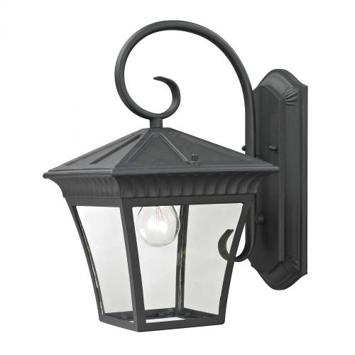 Ridgewood 1 Light Exterior Coach Lantern In Matt 9x15.25 8411EW/65