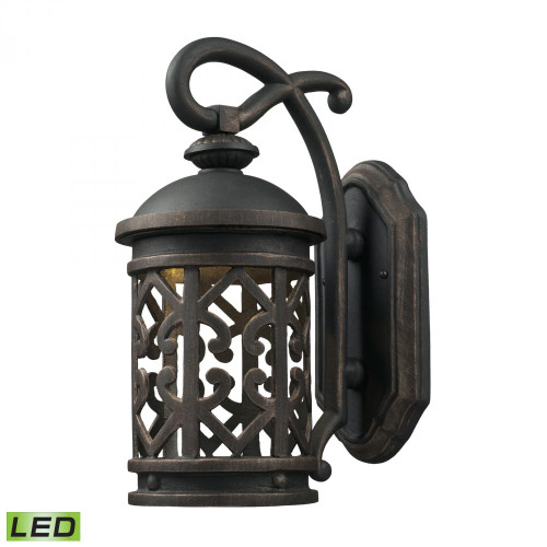 Tuscany Coast - LED 1 Light Exterior Wall Mount 7x14 7201EW/71-LED