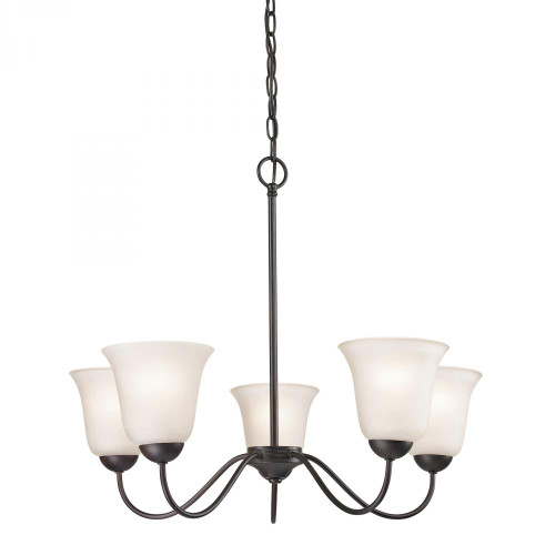 Conway 5 Light Chandelier In Oil Rubbed Bronze 1255CH/10