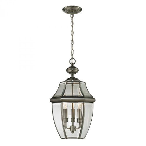 Ashford 3 Light Exterior Hanging Lantern In Anti 12x21 8603EH/80