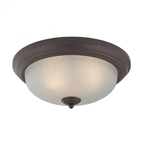 3 Light Flush Mount In Oil Rubbed Bronze 7023FM/10