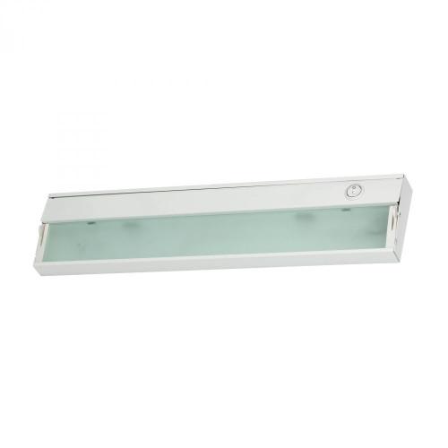 Aurora 2 Light Under Cabinet Light In White 4.75x4.75 A117UC/40