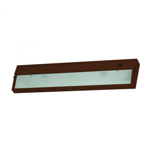 Aurora 2 Light Under Cabinet Light In Bronze 4.75x4.75 A117UC/15