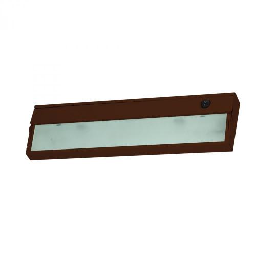 Aurora 1 Light Under Cabinet Light In Bronze 4.75x4.75 A109UC/15