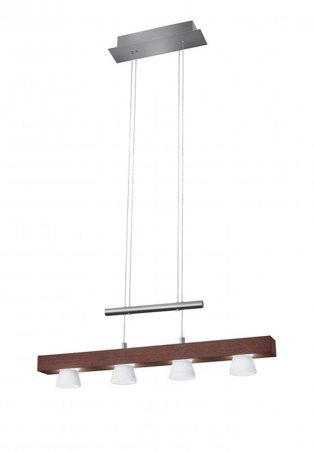 Burlington LED 4 Light Adjustable Pendant 3097-15