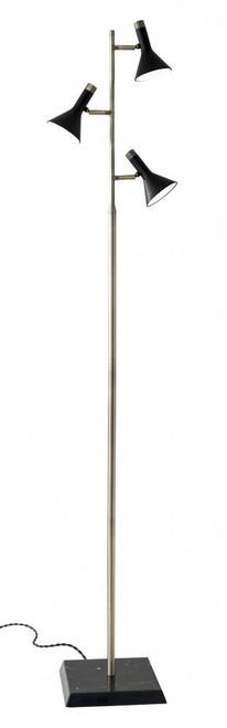 Bennett LED Tree Lamp in Brass 3289-01