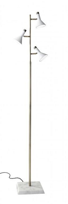 Bennett LED Tree Lamp in White 3289-02