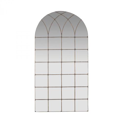 Gilded Arch Floor Mirror 1015533