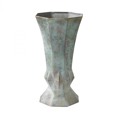 Geometric Patina Vase 2100-015