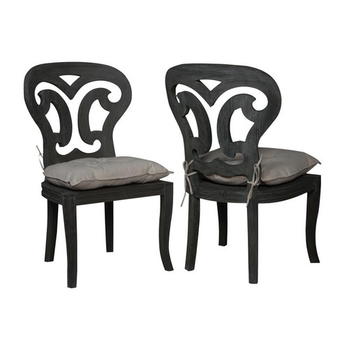 Artifacts Side Chairs In Weathered Grey 694524P