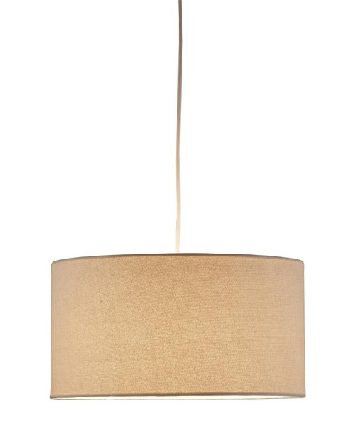 Harvest Drum Pendant in Brown 4001-12