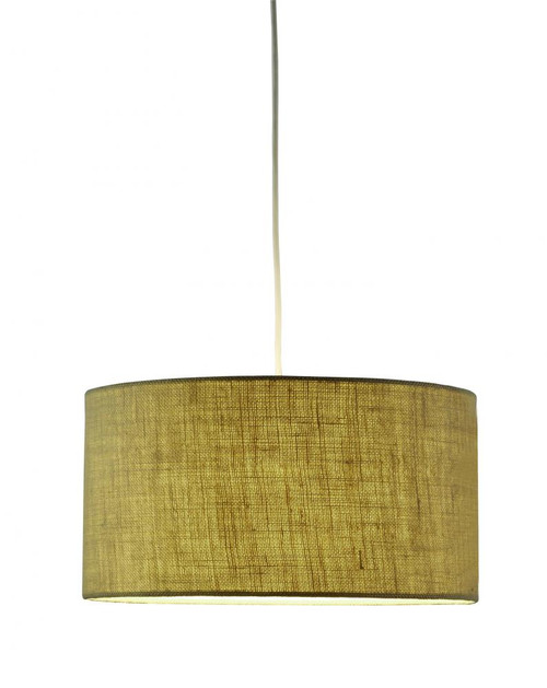 Harvest Drum Pendant in Brown 4001-18