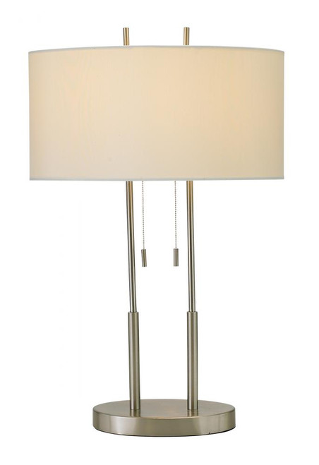 Duet Table Lamp in Silver 4015-22