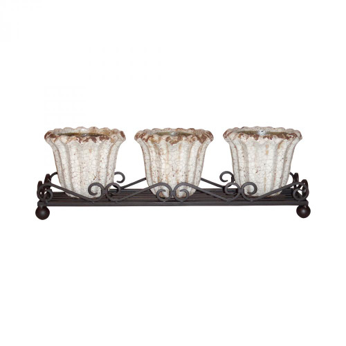 Jardin Wavy Triple Planter 772498