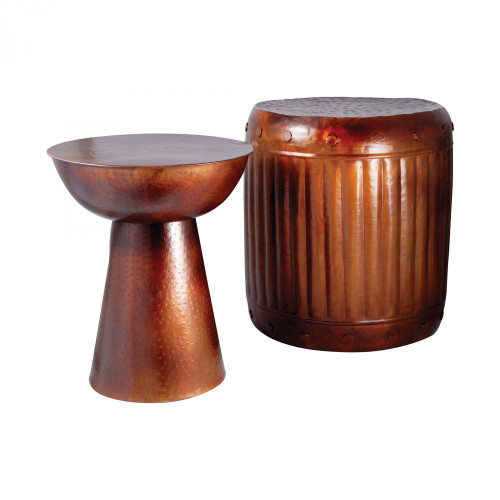 Truffle Set of 2 Table And Barrel Stool 951626
