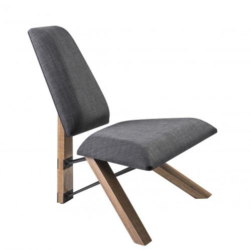 Hahn Chair in Gray GR2100-10