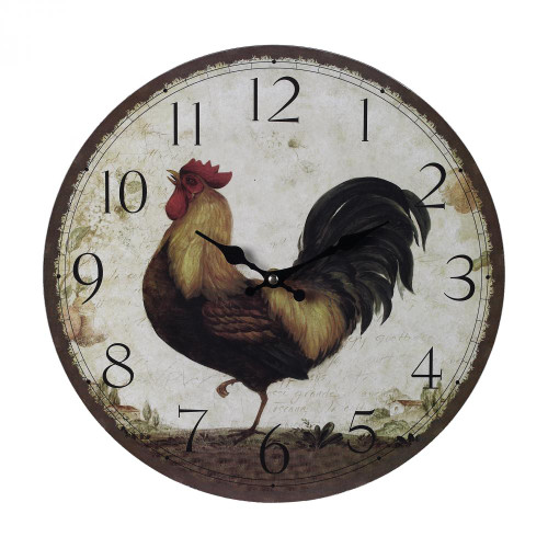 Rooster Wall Clock 118-031