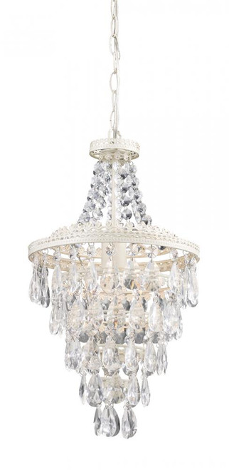 Clear Crystal Pendant Lamp 122-002