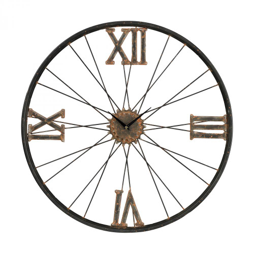 Iron Wall Clock 129-1088