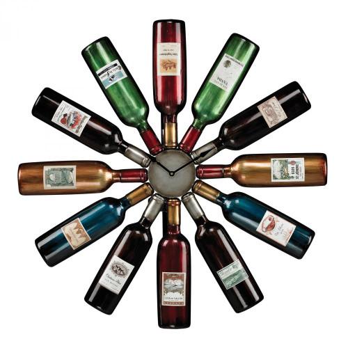 Wine Bottle Clock 51-10085