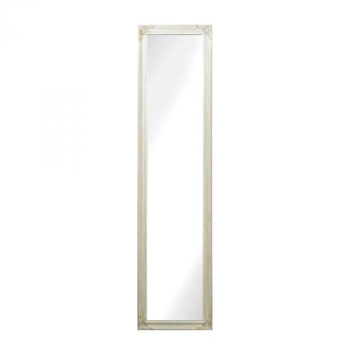 Masalia Floor Mirror In Antique White 6100-015